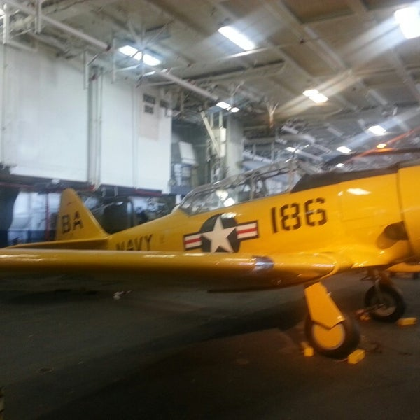 Photo taken at USS Midway Museum by Jazell S. on 3/10/2013