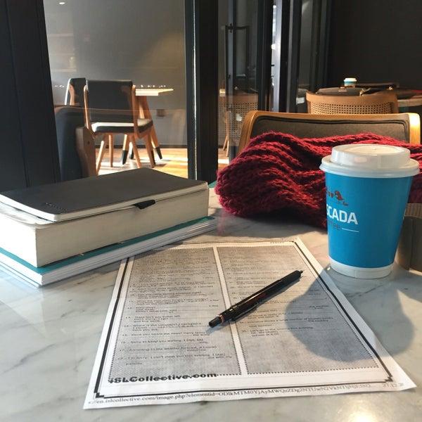 Das Foto wurde bei Cascada Coffee von Dilek D. am 12/27/2016 aufgenommen