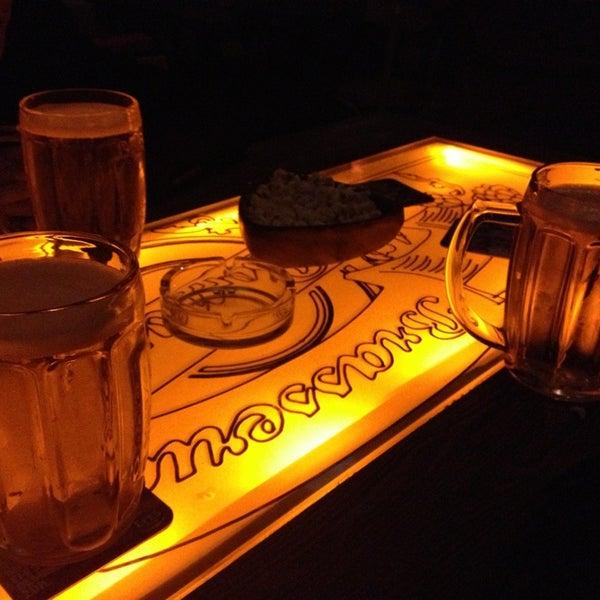 รูปภาพถ่ายที่ Sardunya's Brasserie Bomonti ve Şarap Evi โดย Onur Y. เมื่อ 2/5/2013