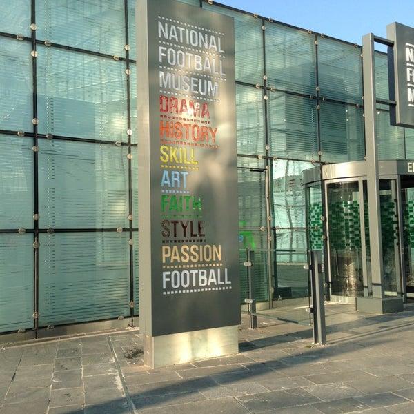2/19/2013 tarihinde Siân B.ziyaretçi tarafından National Football Museum'de çekilen fotoğraf