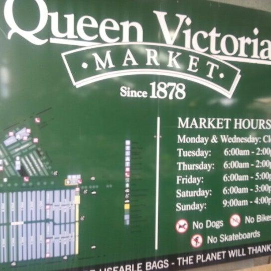 Foto diambil di Queen Victoria Market oleh Minna pada 12/27/2012