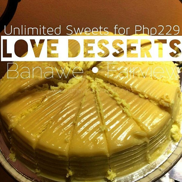 Снимок сделан в Love Desserts пользователем Jherson J. 10/24/2016