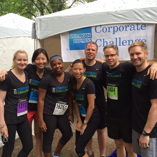 Photos at J P  Morgan Corporate Challenge (Now Closed