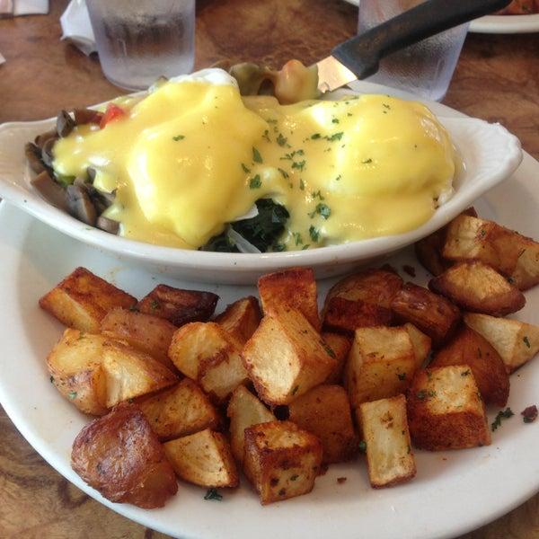 Vegetarian Eggs Benedict!