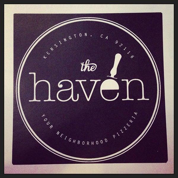 รูปภาพถ่ายที่ The Haven Pizzeria โดย Kelly O. เมื่อ 3/24/2013
