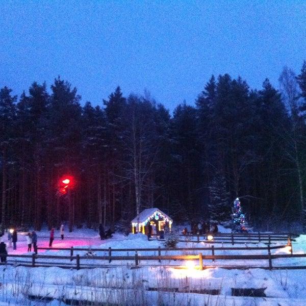 1/20/2013 tarihinde Yulia T.ziyaretçi tarafından Охта Парк'de çekilen fotoğraf