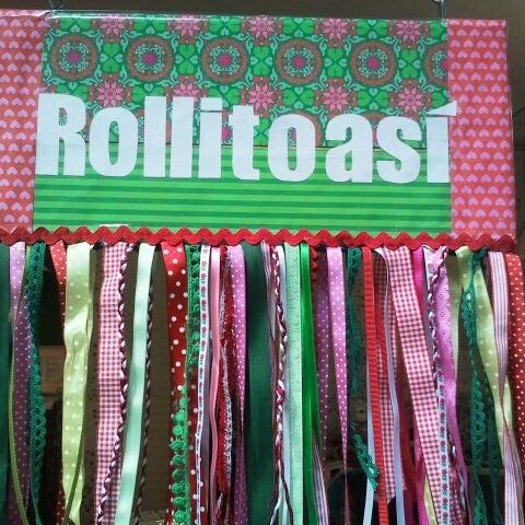 Foto tomada en Rollitoasi Handmade por rollitoasí h. el 6/27/2013