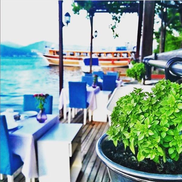 9/20/2017 tarihinde Meliss ♥.ziyaretçi tarafından Fethiye Yengeç Restaurant'de çekilen fotoğraf