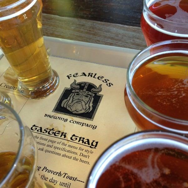 6/8/2013 tarihinde Michael P.ziyaretçi tarafından Fearless Brewing'de çekilen fotoğraf