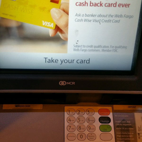 Wells Fargo Cash Deposit Availability