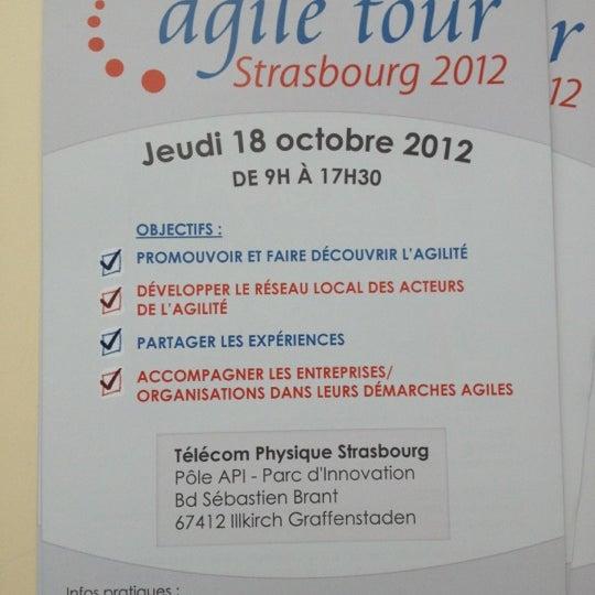 Photo Taken At Ple API By Yves H On 10 18 2012