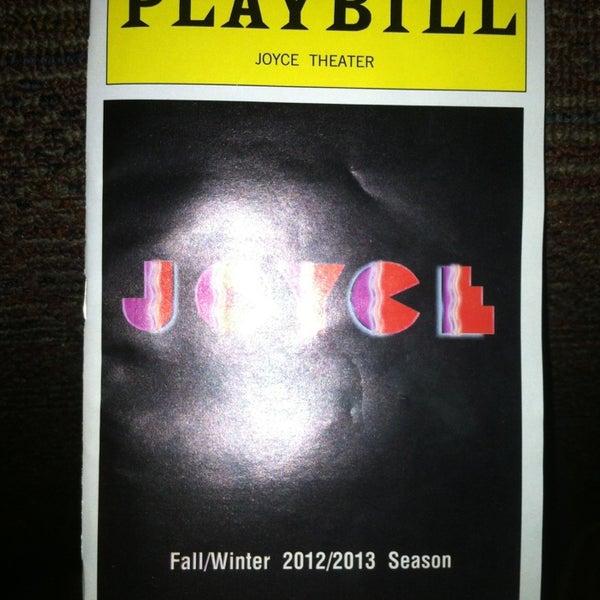 Photo prise au The Joyce Theater par Rees P. le1/25/2013