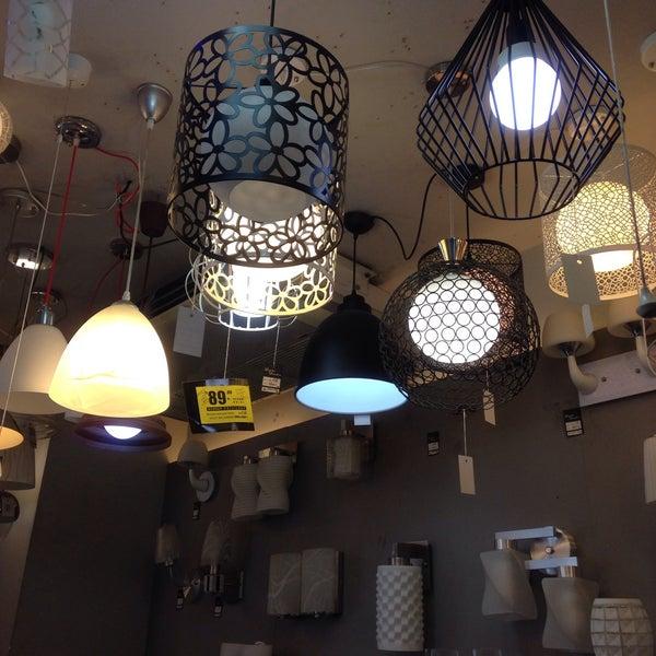 At home store photo studio lighting