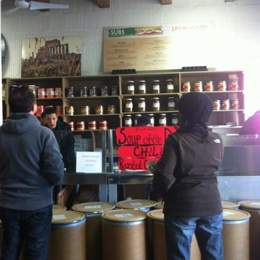 Снимок сделан в J.P. Graziano Grocery пользователем Brian B. 11/2/2012