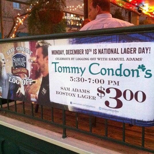 12/10/2012에 Brad T.님이 Tommy Condon's에서 찍은 사진