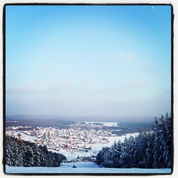 Снимок сделан в ГЛК Гора Пильная пользователем Наталия Ч. 1/20/2013