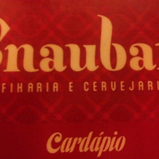 Foto tirada no(a) Snaubar Esfiharia e Cervejaria por Josadak A. em 2/3/2013