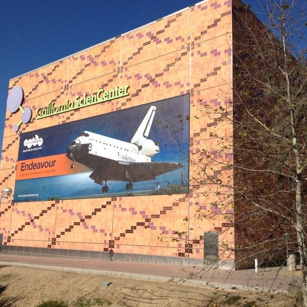 Das Foto wurde bei California Science Center von Csaba C. am 1/4/2013 aufgenommen