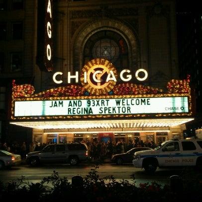 10/21/2012에 Mari A.님이 The Chicago Theatre에서 찍은 사진