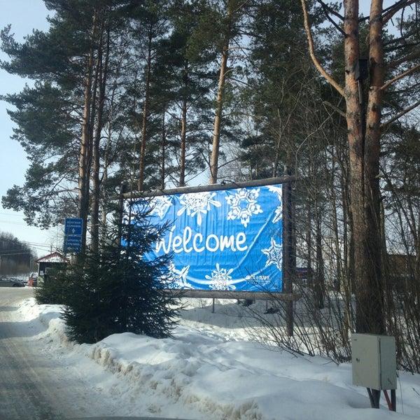 3/3/2013 tarihinde VinoDel🍷ziyaretçi tarafından Охта Парк'de çekilen fotoğraf