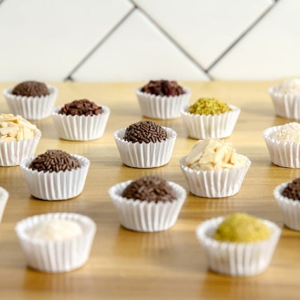 "Brigadeiro Bakery, boasting the motto ""You'll love it before you can even pronounce it"" serves a range of brigadeiros in flavors like coconut, passionfruit, coffee and even an Oreo-encrusted version"