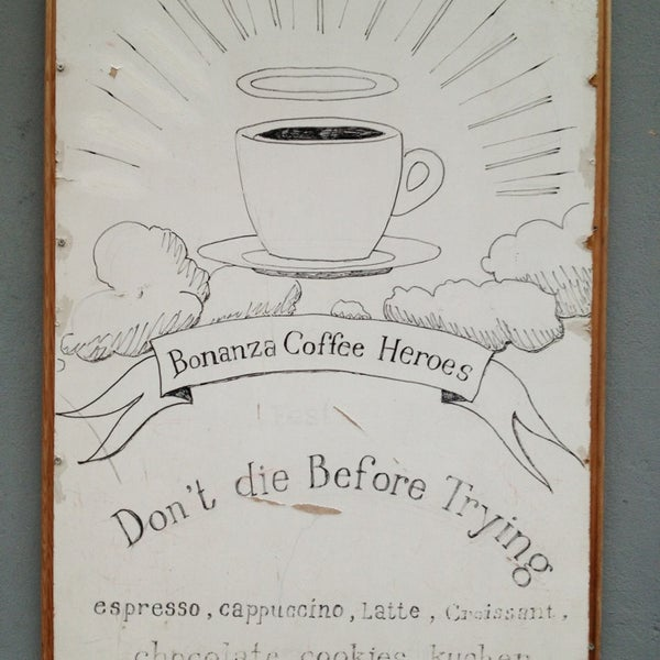 Снимок сделан в Bonanza Coffee пользователем Sasha K. 2/16/2013