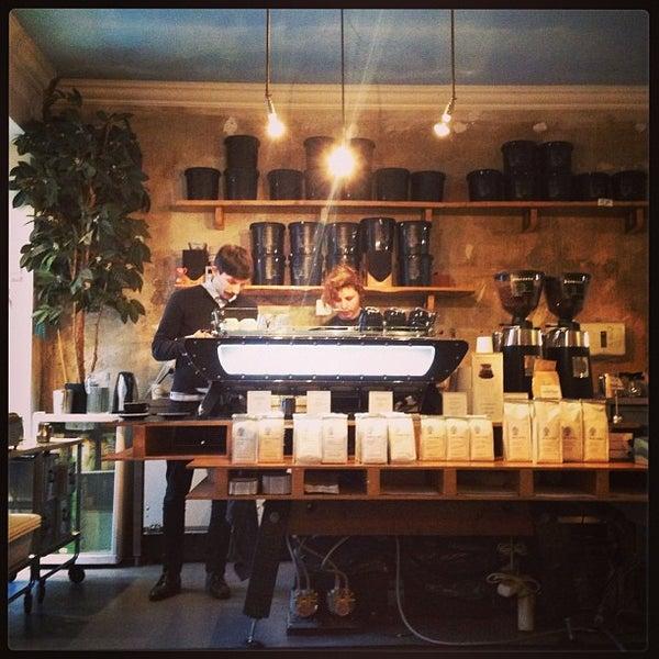 Снимок сделан в Bonanza Coffee пользователем Sasha K. 2/12/2013
