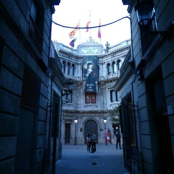 6/23/2017にSepid t.がMuseu de Cera de Barcelonaで撮った写真
