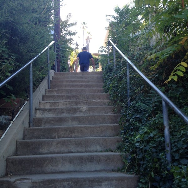 Photo Taken At La Mesa Secret Stairs By Monica M. On 10/19/
