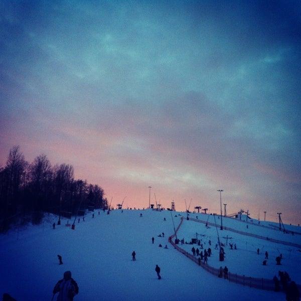 1/27/2013 tarihinde Arina V.ziyaretçi tarafından Охта Парк'de çekilen fotoğraf