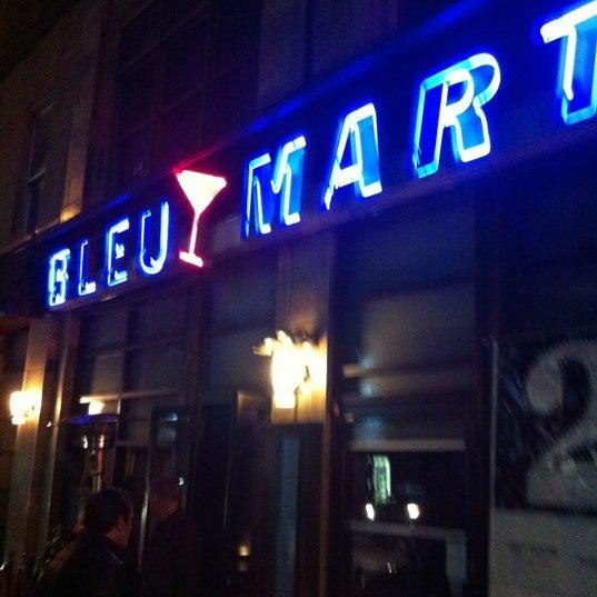 Foto tomada en Bleu Martini por Tarak G. el 1/1/2013