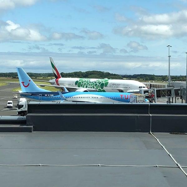 Das Foto wurde bei Newcastle International Airport von David R. am 7/14/2019 aufgenommen