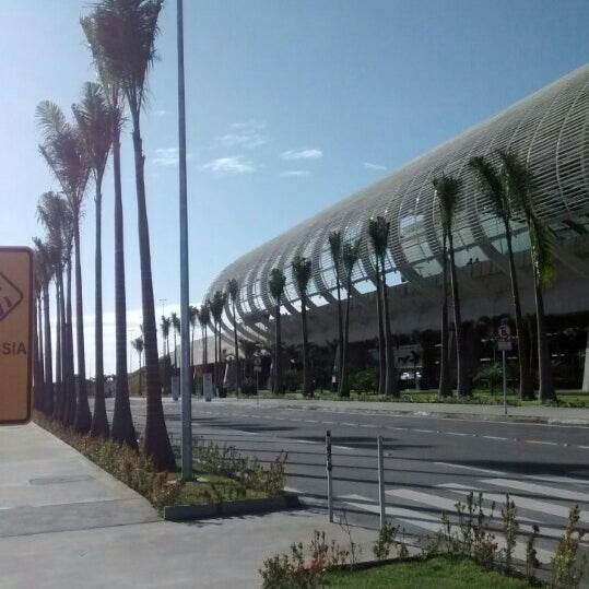 Снимок сделан в Aeroporto Internacional de Natal / São Gonçalo do Amarante (NAT) пользователем Mirni F. 9/10/2014