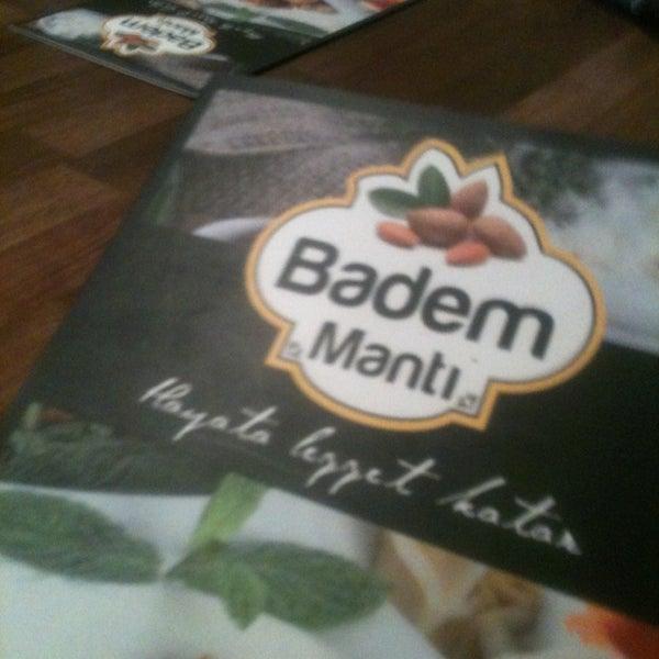 Das Foto wurde bei Badem Mantı von Mert Ş. am 1/19/2013 aufgenommen