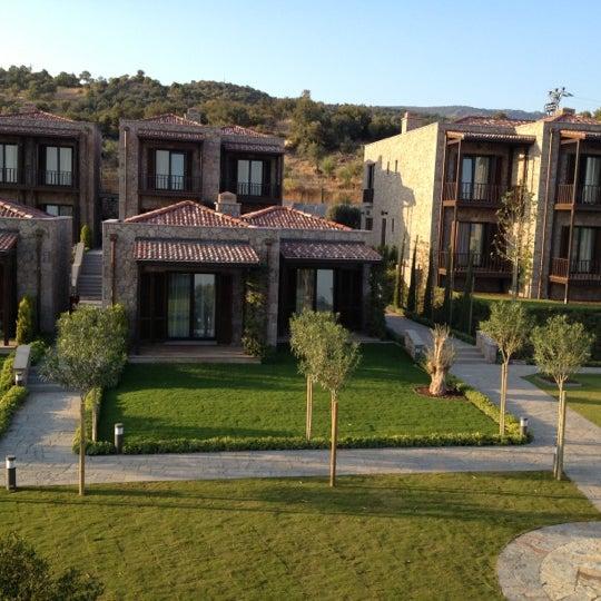 Снимок сделан в Assos Ida Costa Hotel пользователем Nese A. 10/25/2012