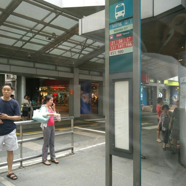 Photos at Bus Stop 50038 (Novena Station) - Bus Station in Singapore
