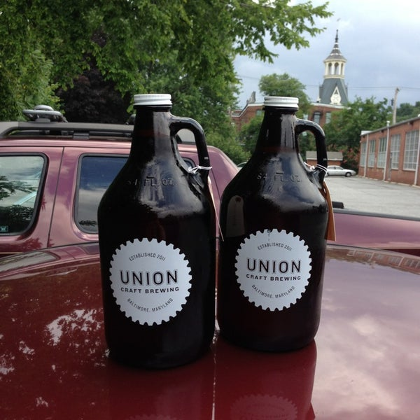Photo taken at Union Craft Brewing by Will B. on 7/13/2013