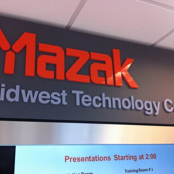 Photos at Mazak Optonics Corp  - Office