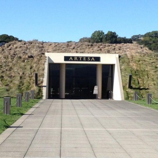 Das Foto wurde bei Artesa Vineyards & Winery von Paul G. am 11/6/2012 aufgenommen