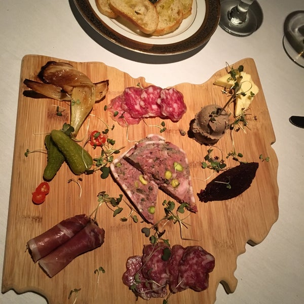 Charcuterie board was delish! Try the dinner & music.