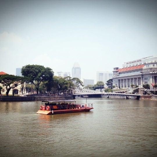 Foto diambil di Singapore River oleh jjune25 S. pada 10/1/2012