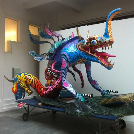 Снимок сделан в Museo de Arte Popular пользователем I S. 9/26/2012