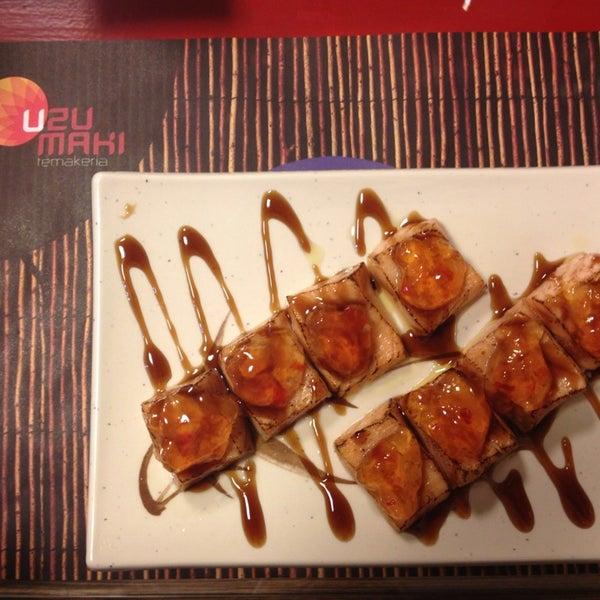 A dica de hoje é o prato 25, Massamoto, que são cubos de salmão maçaricado, cornetos com geléia de pimenta! Experimente ;)