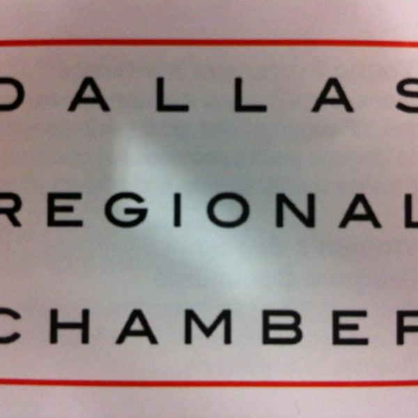 Снимок сделан в Dallas Regional Chamber пользователем Andres F. 4/4/2013