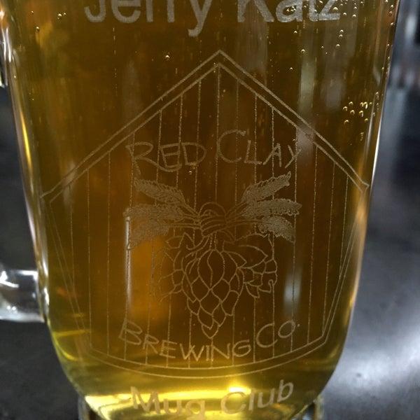 Das Foto wurde bei Red Clay Brewing Company von Jerry K. am 2/6/2016 aufgenommen