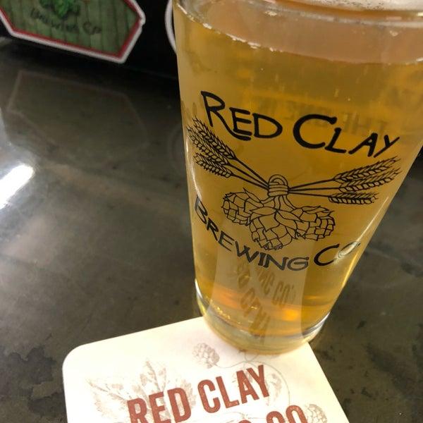 Foto tomada en Red Clay Brewing Company por Jerry K. el 8/22/2018