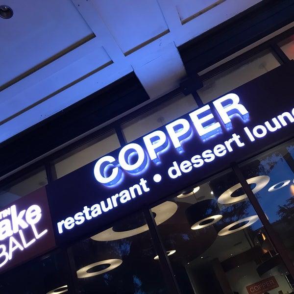 Foto scattata a Copper Restaurant & Dessert Lounge da Bill J. il 4/24/2018