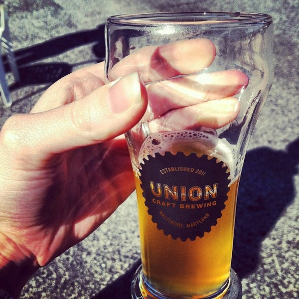 Photo taken at Union Craft Brewing by Tiffany S. on 3/9/2013