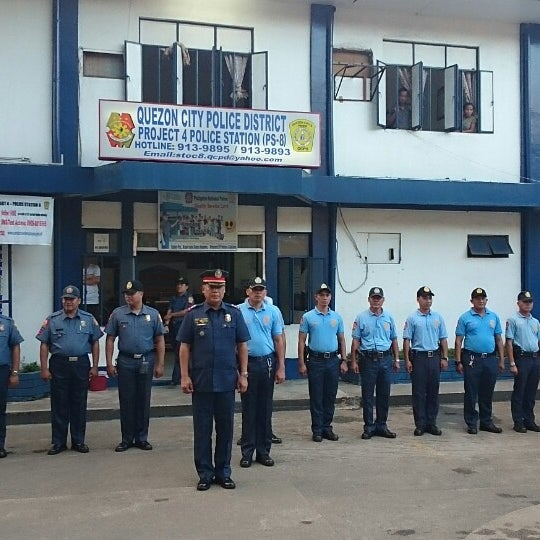 Photos at QCPD Police Station 8 - Marilag - P  Tuazon, Project 4
