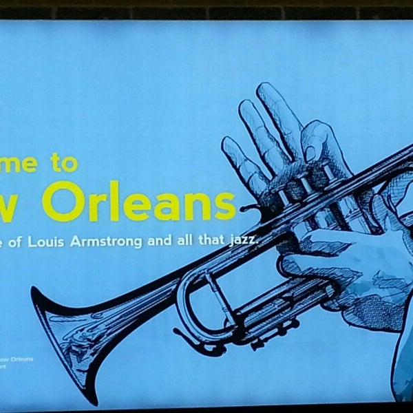 Foto scattata a Louis Armstrong New Orleans International Airport (MSY) da Mark P. il 5/29/2013
